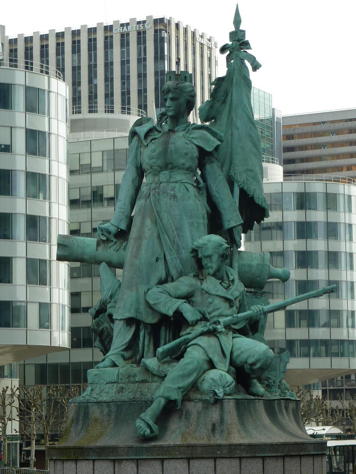 La Defense monument, Paris