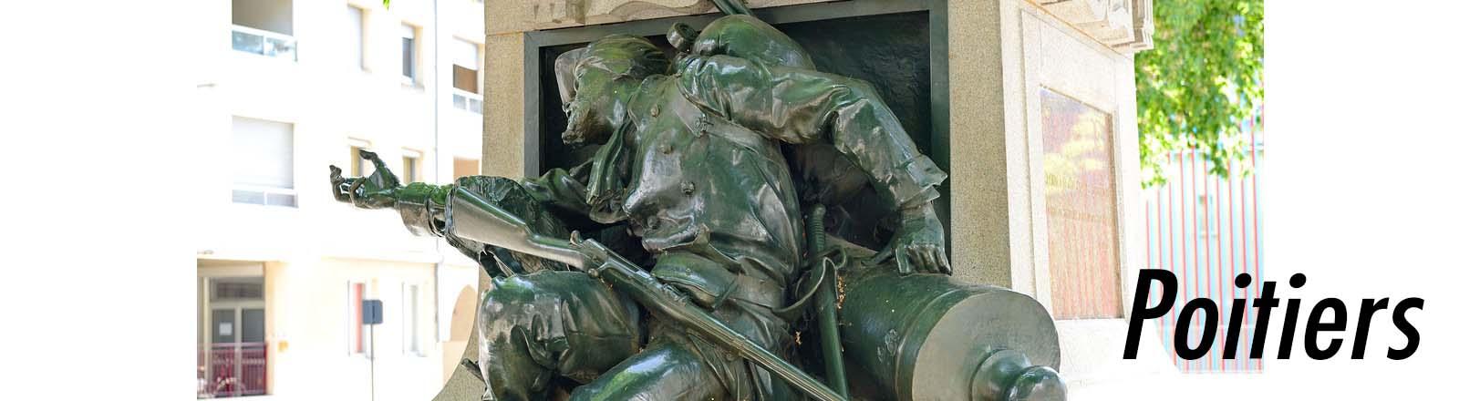 Monument aux morts de 1870-1871, à Poitiers