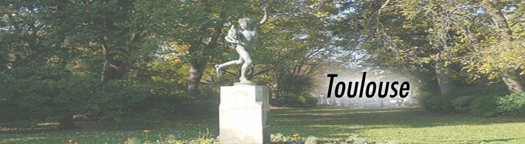 Le combat de coq de Falguière, Le Grand-Rond à Toulouse.
