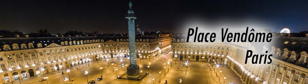 La colonne Vendôme, place Vendôme à Paris.