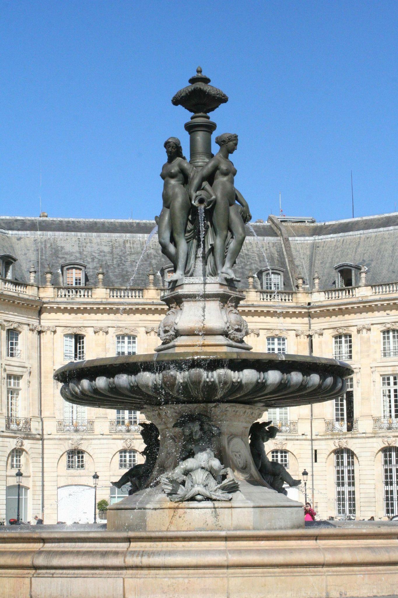 Fontaine des Trois Grâces Bordeaux